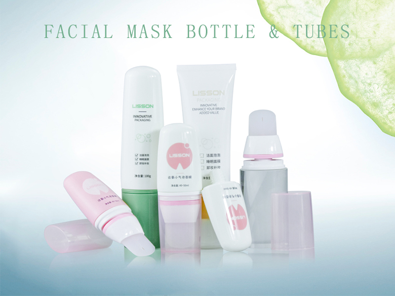 Cosmetic Packaging for Facial Mask