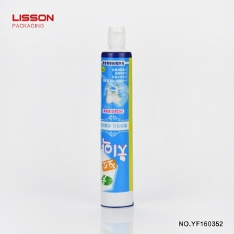 110 ml Laminated Plastic Empty Toothpaste Tubes