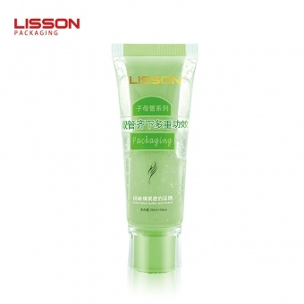 Dual Chamber Lotion Tube