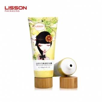 Bamboo Cosmetic Tube Packaging
