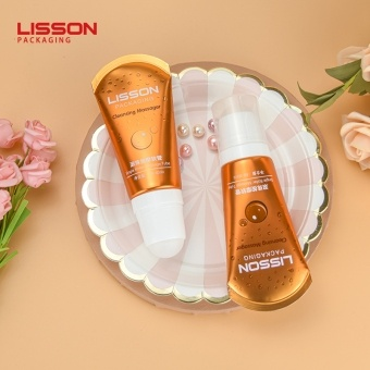 60ml Single Roller Massage Body Lotion Tube with Rotary Switch