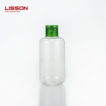 30ml 50ml 100m 250ml 500ml Empty PET Bottles with Flip top Cap