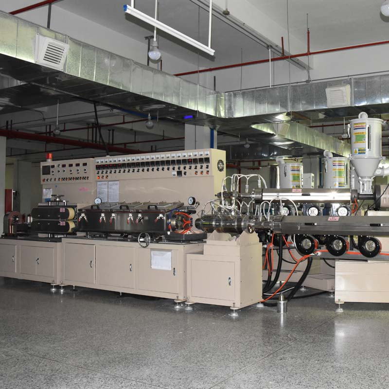 Cosmetic Squeeze PE Tube Extruding Machine